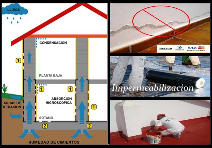 Impermeabilizacion Quito Tratamiento Humedad Terrazas